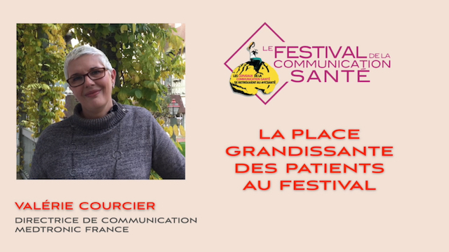 La place grandissante des patients au Festival de la Communication Santé
